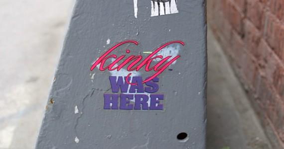 Kinky Was Here Sticker