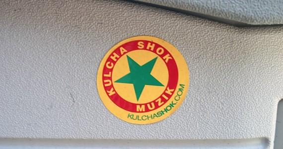 kulcha  Shok Sticker