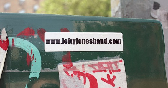 Leftyjonesband Sticker