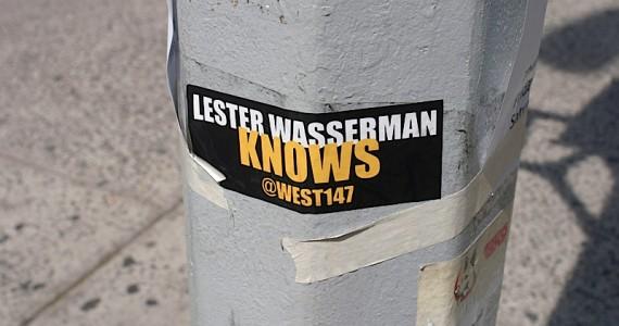 Lester Wasserman Sticker