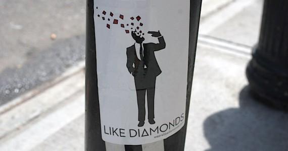 Like Diamonds Sticker