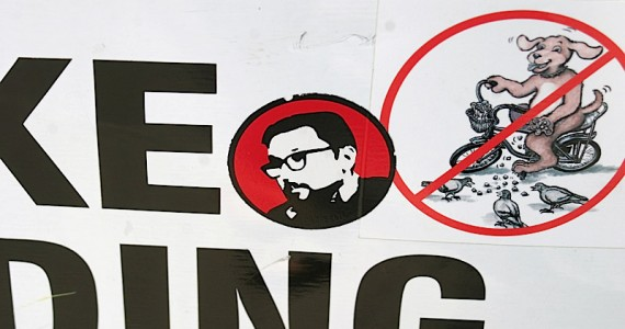 Man With Glasses Sticker