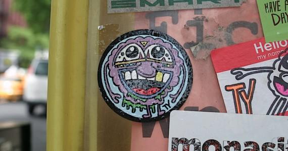Meatball Ty Sticker
