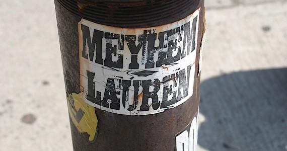 Meyhem Lauren Sticker