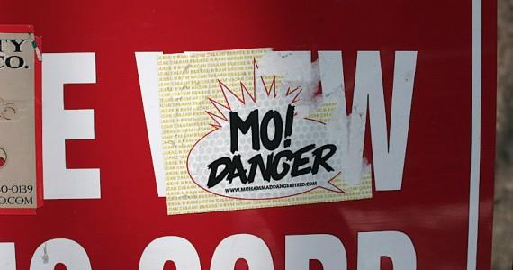 Mo Danger Sticker