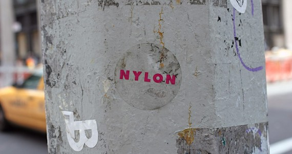 Nylon Sticker