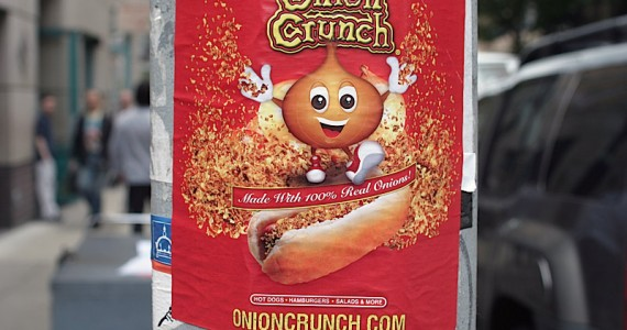 Onion Crunch Sticker