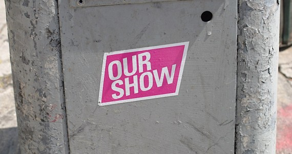 Our Show Sticker