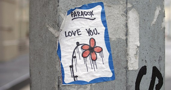 Paradox Love You Sticker