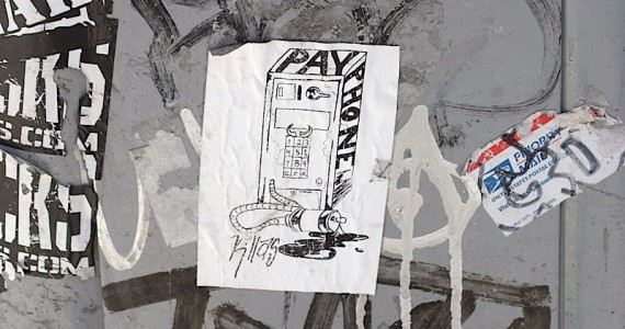 Pay Phone Sticker