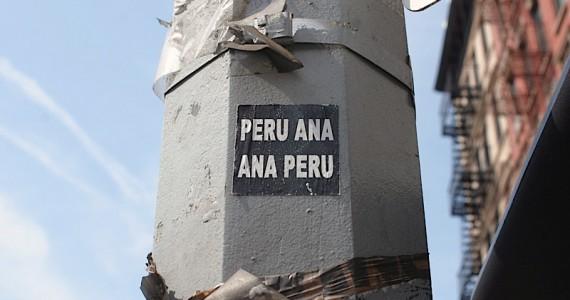 Peru Ana Ana Peru Sticker
