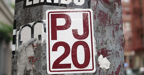 Pj20 Sticker