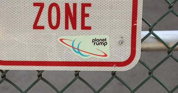 Planet Rump Sticker