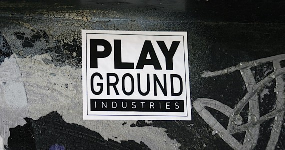 Play Ground  Industries Sticker