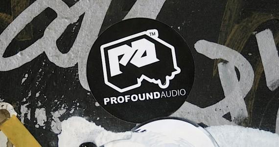 Profound Audio Sticker