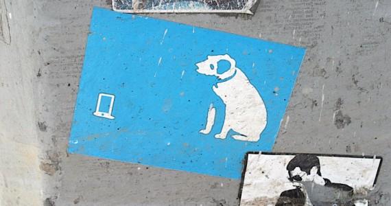 Rca Dog Ipod Sticker