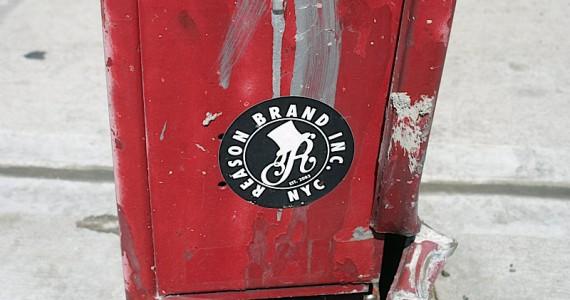 Reason Brand Inc Sticker