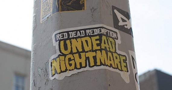 Red Dead Redemption Sticker