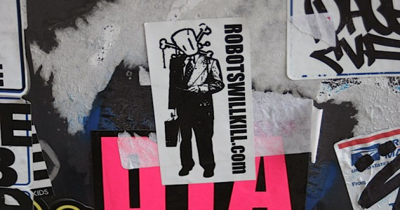 Robots Will Kill Sticker