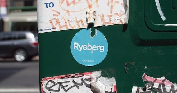 Ryeberg Sticker