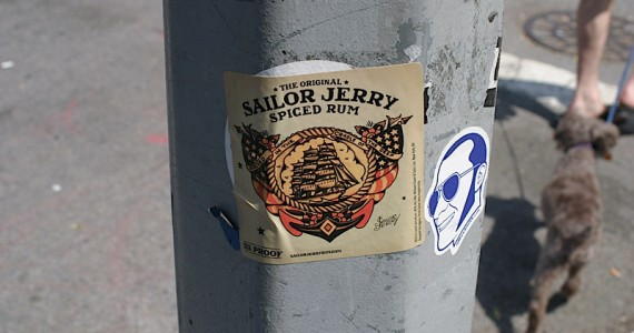 Sailor Jerry Sticker