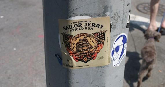 Sailor Jerry Sticker