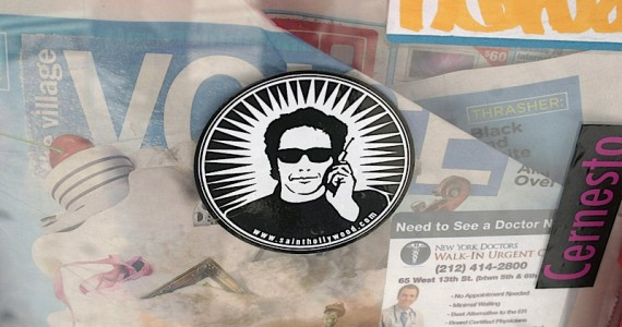 Saint Hollywood 2 Sticker