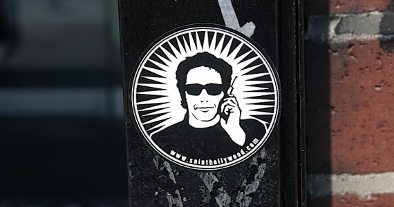 Saint Hollywood Sticker
