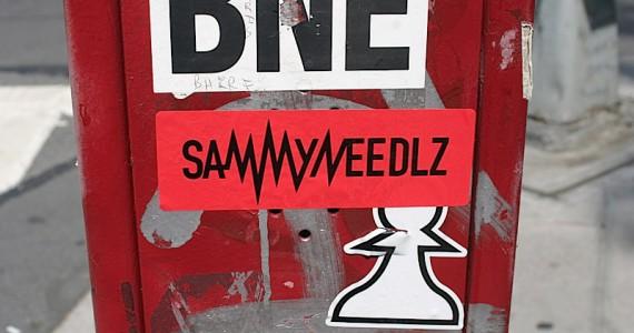 Sammyneedlz Sticker