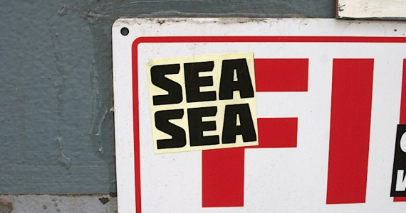 Sea Sea Sticker