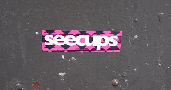 Seecups Sticker