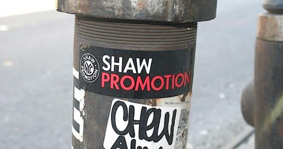 Shaw Promotion Sticker