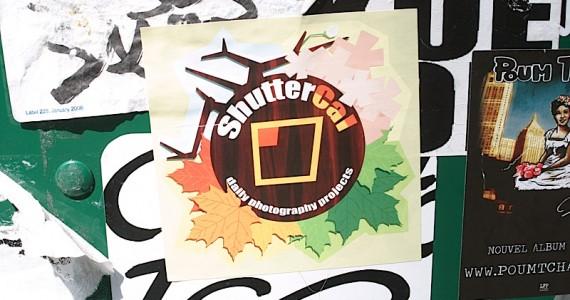 Shuttercal Sticker