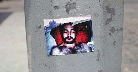 Sleeping With Beard Sticker