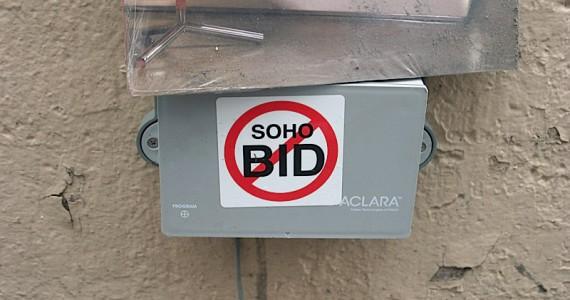 Soho Bid Sticker