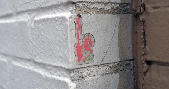 Statue Liberty Sticker
