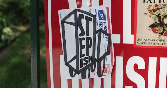 Stepism Sticker