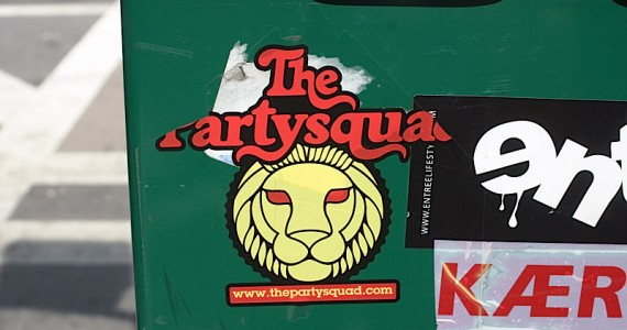 The Party Squad Sticker