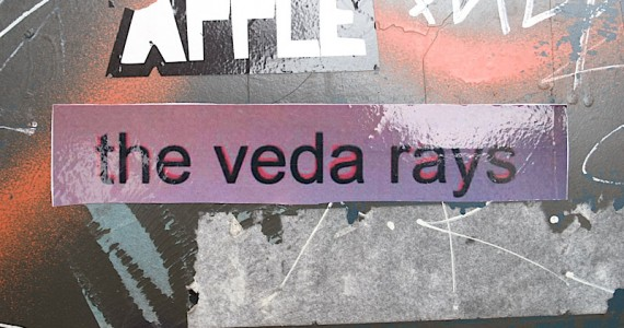 The Veda Rays Sticker