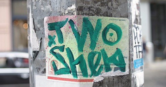 Two Shekl Sticker