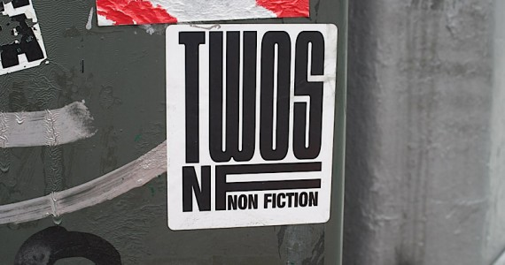 Twos Non Fiction Sticker