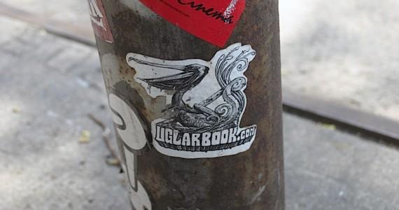 Uglar Book Sticker