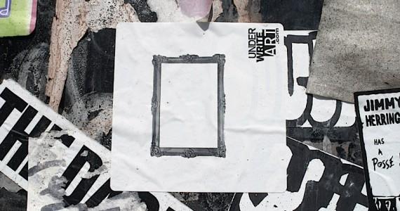 Under Write Art Sticker