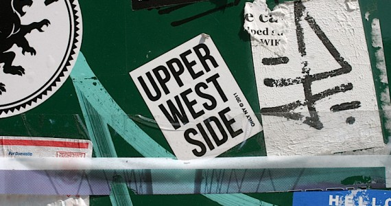 Upper West Side Sticker