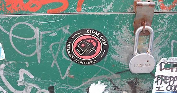 Xifm Sticker